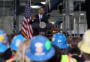 President Obama Speech To Manufacturing Companies
