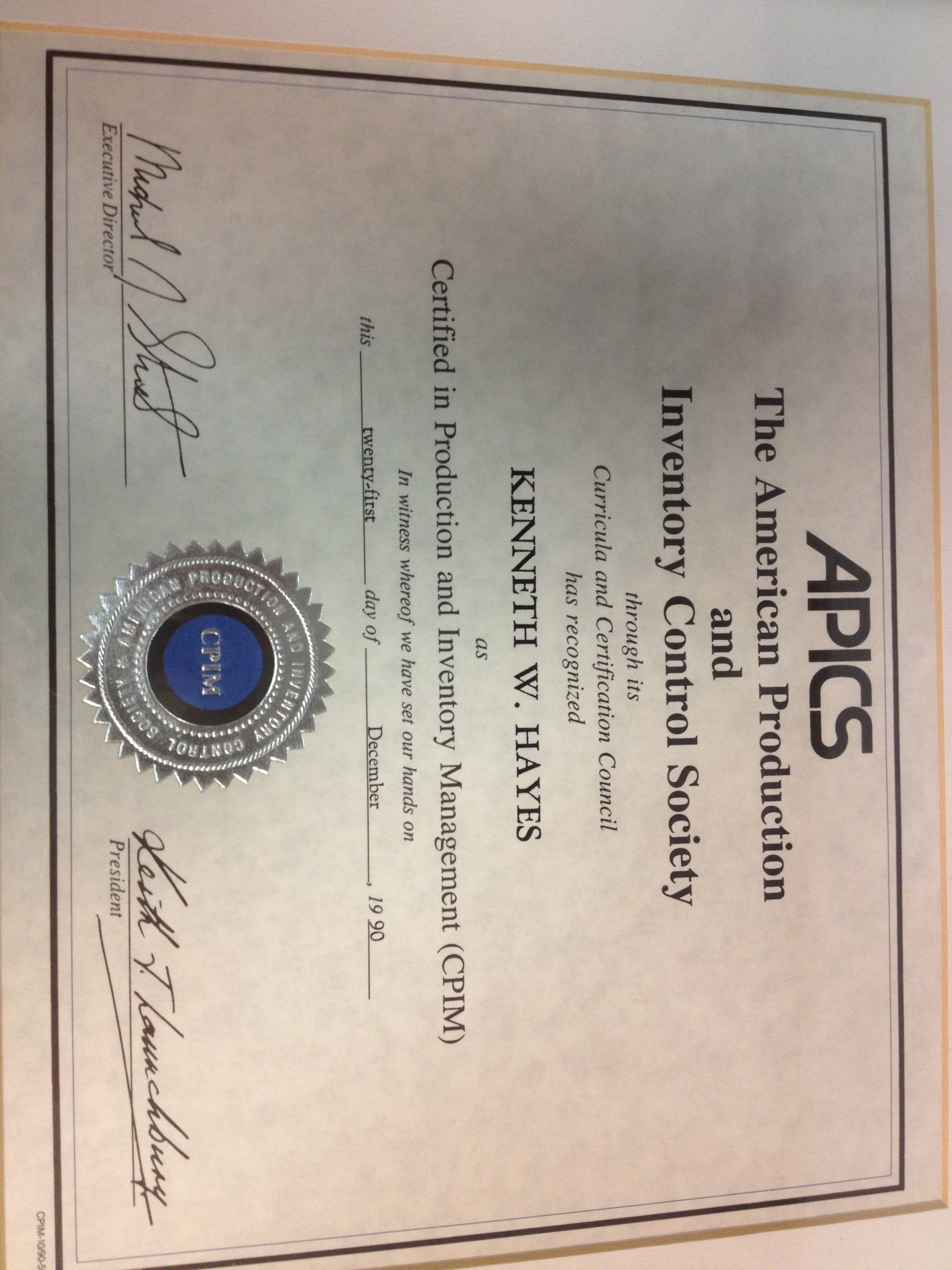 Can apics certification improve your competitive edge in the apics certification 1betcityfo Image collections